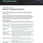 Asterion Publishes Equipment Capabilities Guide